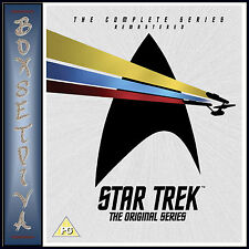STAR TREK THE ORIGINAL SERIES -COMPLETE SERIES REMASTERED *BRAND NEW DVD BOXSET*