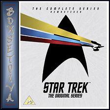 STAR TREK THE ORIGINAL SERIES -COMPLETE SERIES REMASTERED *BRAND NEW DVD BOXSET*