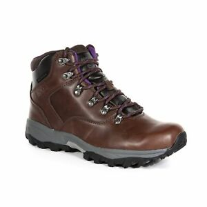Regatta Women's Lady Bainsford Waterproof Walking Boots - Brown Chestnut