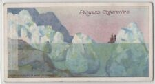 How Icebergs Are Formed Arctic Ocean Greenland c100 Y/O Trade Card