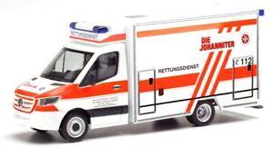 HER095662 - Véhicule ambulance – MERCEDES Sprinter Fahrtec DIE JOHANNITER -  -