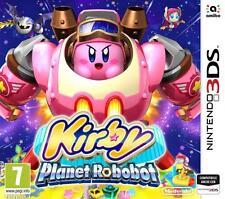 KIRBY: PLANET ROBOBOT PER NINTENDO 3DS NUOVO +SPEDIZIONE DIRETTA DA NEGOZIO