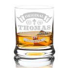 Leonardo Whiskyglas mit Gravur Whisky Glas personalisiert mit Name Geschenkidee