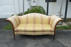 Carved Mahogany Large Sofa Couch Southwood Furniture 1894