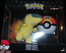 Cyndaquil + Repeat Ball Pokemon Plush Dolls Toys Authentic Official TOMY NEW