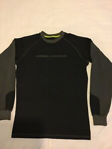Under Armour Womens Black Pullover Top UK Size Medium. Excellent Condition