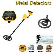 Ridgeyard Metal Detector Digger Deep Sensitive Light Hunter Coil Lcd Display