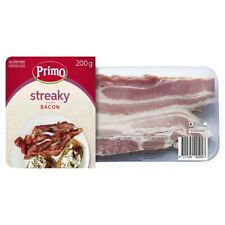 Primo Gluten Free Streaky Bacon 200g