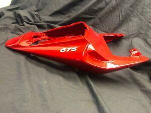 Triumph Daytona 675 07-10 rear duck tail Tornado Red T2307566-CM