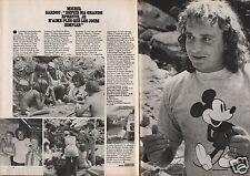 Coupure de presse Clipping 1981 Michel Sardou  (2 pages)