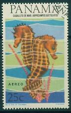 [JSC]PANAMA Sea Horse Stamp Collection