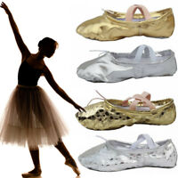 Fashion Adult Child Ballet Dance Slippers Pointe Gymnastics Shoes Gymnastics
