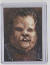 Grimm TV-Show Wesen Insert Trading Card #GW13 Eisbiber
