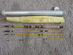Vintage Wright & McGill Trailmaster  6 piece Spinning / Fly Pack Rod TR600