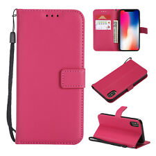 For iphone 4S 5S SE 6S 7 8 Plus Magnetic PU Leather Wallet Flip Stand Case Cover