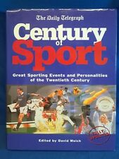 THE DAILY TELEGRAPH CENTURY OF SPORT HARDBACK BOOK WITH DUSTJACKET