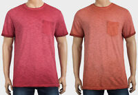 Mens PEACOCKS Chest Pocket Colour Burn Out T-Shirt Top - Size XS S M L XL XXL
