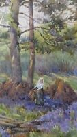 Edith Alice Andrews (1873-1962) - Old Original Watercolour Painting, signed.