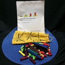 Vtg Cuisenaire Rods Math Manipulative Elementary Education Home School Teacher