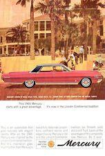 1965 Mercury Park Lane 2-Door Doral Beach Hotel Golf PRINT AD