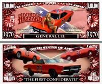 Sceriffo Fatto Me Paura! General Lee Banconota Million Dollar! Dodge Charger