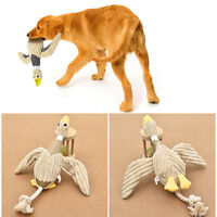 For Dog Funny Pet Puppy Chew Squeaker Squeaky Plush Sound Duck Toy Play Nontoxic