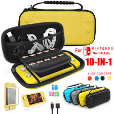 For Nintendo(Switch LITE)Carry Case Bag+ Cover+ Screen Protector+ Charging Cable