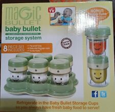 Magic Bullet Baby Bullet Food Storage System