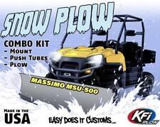 "MASSIMO UTV MSU-500 -  KFI UTV 72"" Snow Plow Combo Kit"