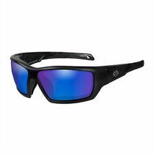 Harley-Davidson® Men's Wiley-X Backbone Sunglasses Blue Mirror Lenses HDBAC12