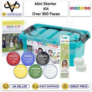 Snazaroo Mini Face Painting Starter Kit Professional Make Up Set