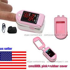 USA LED Fingertip Pulse Oximeter Finger Blood Oxygen SpO2 PR Heart Rate Monitor