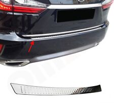 Lexus RX 200T 2015Up Chrome Rear Bumper Protector Scratch Guard S.Steel