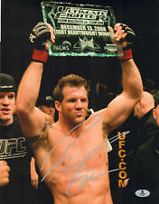 RYAN BADER SIGNED AUTO'D 11X14 PHOTO BAS BECKETT COA UFC TUF 8 WINNER 144 192 A