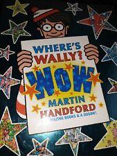 Wheres Wally Book Set  x 6 books And Jigsaw
