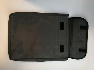 Solo Black Check Fast Laptop Case / Sleeve - 15 x 11 - Useful at TSA Checkpoints