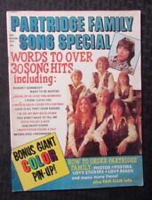 1971 Winter PARTRIDGE FAMILY Song Special Magazine FN 6.0 David Cassidy