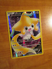 EX FULL ART Pokemon Mythical JIRACHI Card Black Star PROMO XY112 Collection Box