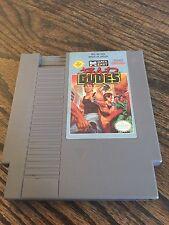 Bad Dudes (Nintendo Entertainment System, 1990) NES Game Cart NE4