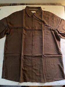 Territory Ahead Men's Button Down Short Sleeve Shirt New XL
