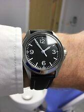 Seiko 5 Automatic.'SeikoSinn' Custom.Black Bradystrap.