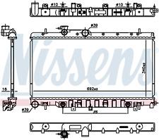 NISSENS 67711 Engine Coolant Radiator