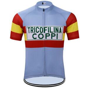TRICOFILNA COPPI Cycling Jersey cycling Short Sleeve Jersey