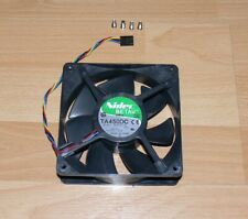 Ventilateur 271m3/h 12V PC Nidec BETAV TA450DC B35502-35 120mm  + 4 Vis ( DELL )
