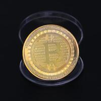 Bitcoin Coin Münze Miner Medaille Sammelmünze Sammlermünze Gedenkmünze