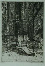 Luigi Kasimir ( 1881-1962 ) Stiegen zum Kathedrale.