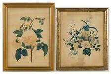 AMERICAN SCHOOL (LATE 19TH/EARLY 20TH CENTURY) THEOREM PAINTINGS, LO... Lot 1342