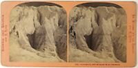 Grindelwald Mer Da Tergicristallo Suisse Foto Lamy Stereo Vintage Albumina c1865