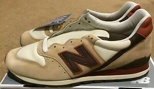 Mens New Balance 996 Classic Horween Leather Brown Tan M996DCB New