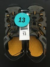 8J/_34 PICK SIZE NEW Khombu Boy/'s Adjustable Active River Sandals CHARCOAL